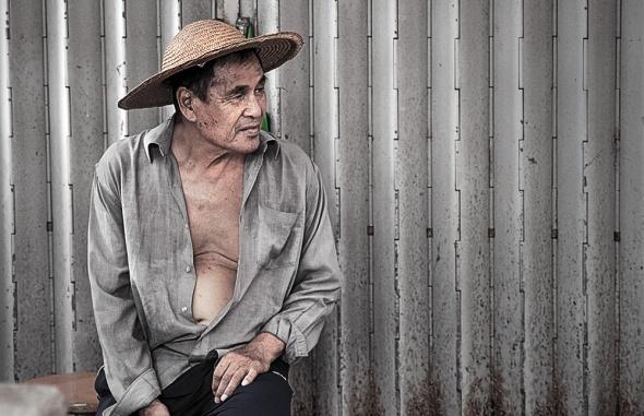 fishing village guy